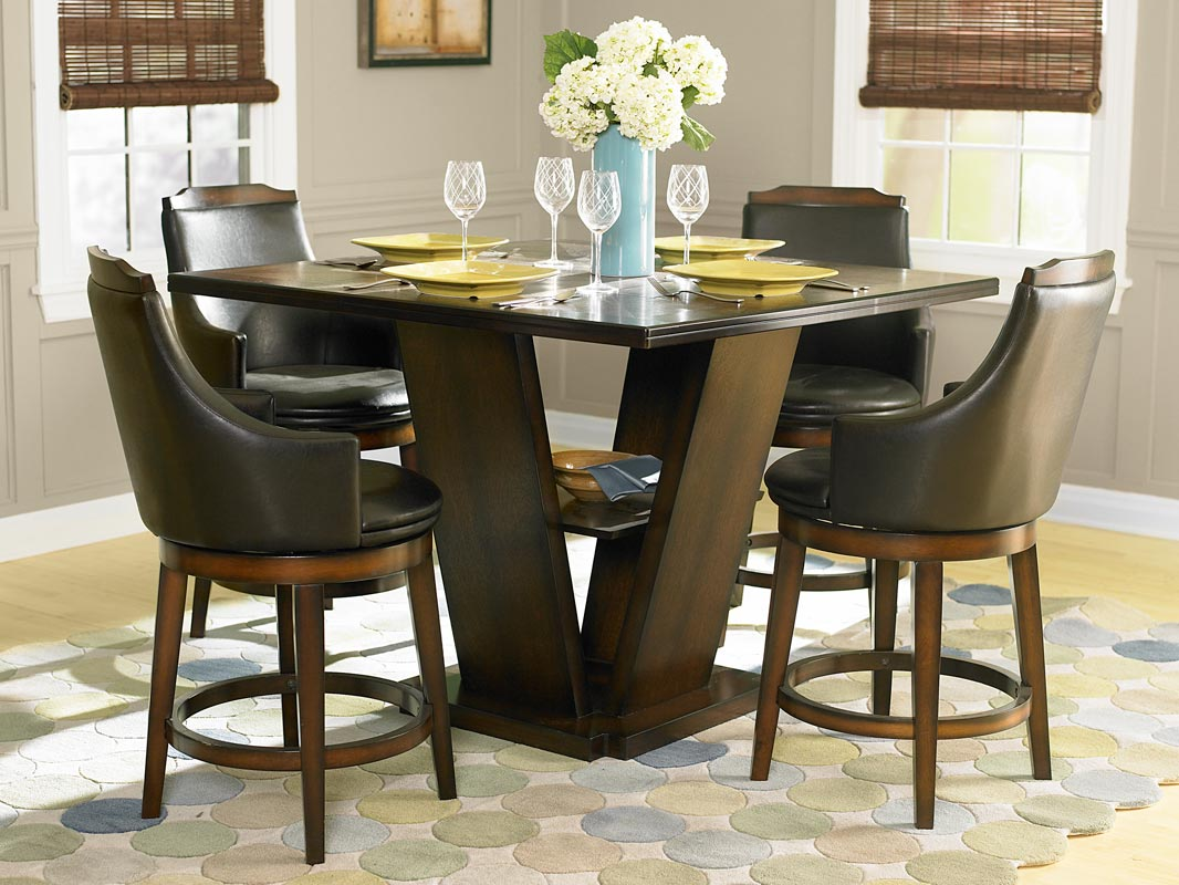 Homelegance Bayshore Counter Height Dining Set & Homelegance Bayshore Counter Height Dining Set D5447-36 ...