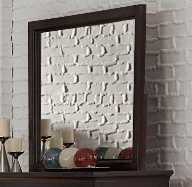 Glamour Brown Mirror