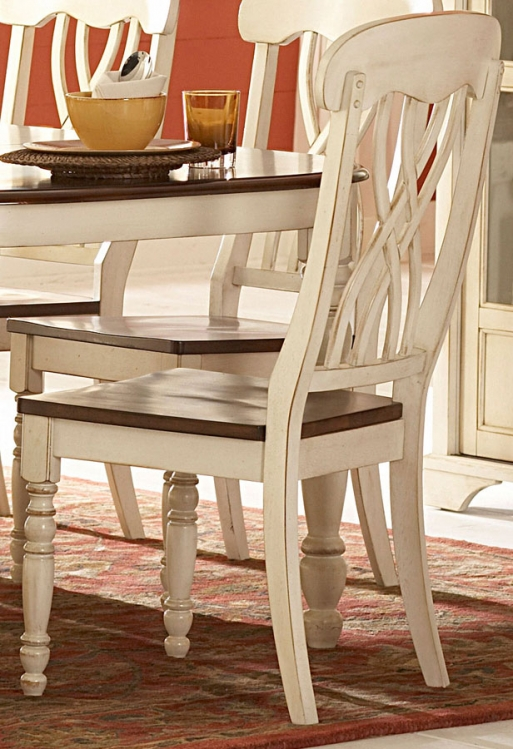 Ohana White Side Chair