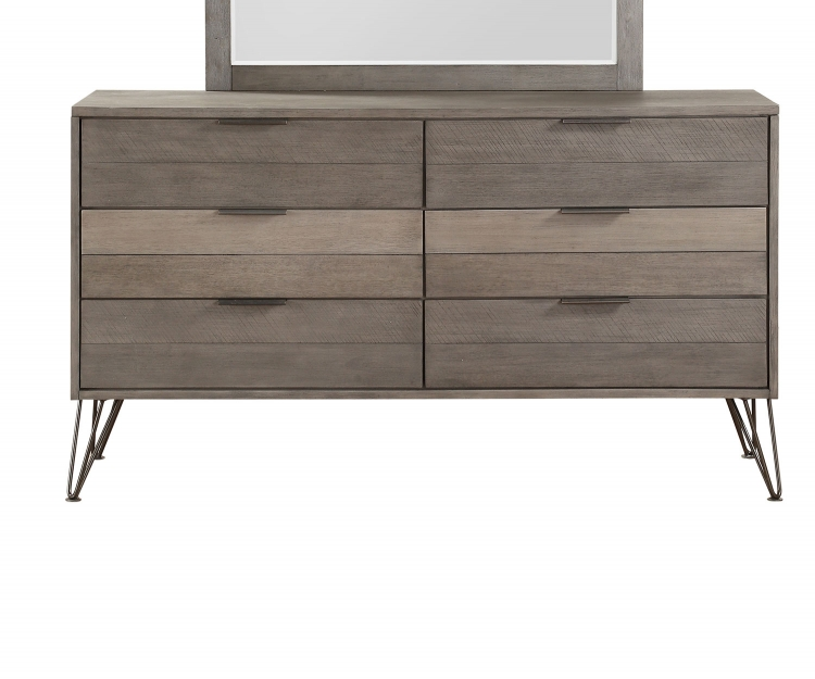 Urbanite Dresser - Brown-Gray