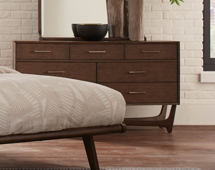 Ruote Dresser - Brown-Gray