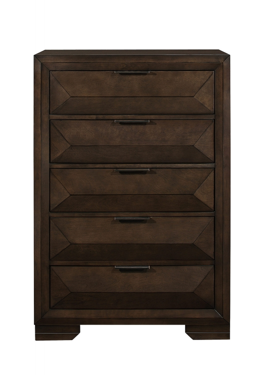 Chesky Chest - Warm Espresso
