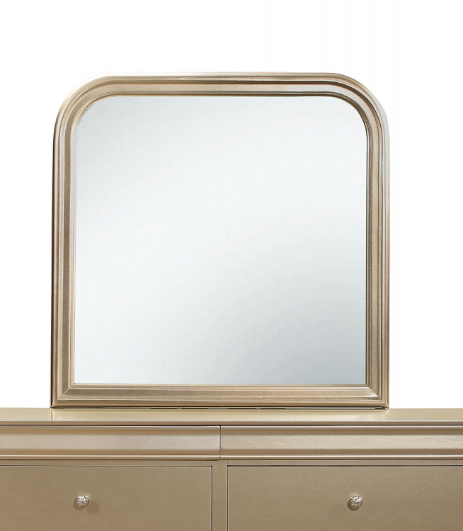 Abbeville Mirror - Gold