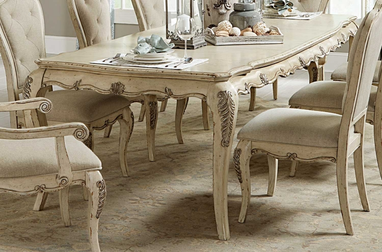 Elsmere Dining Table - Antique Grey