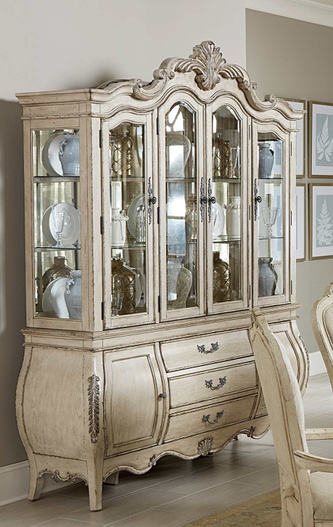 Elsmere China Cabinet - Antique Grey