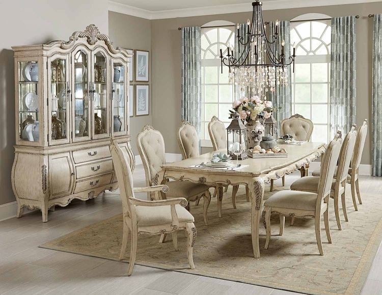Elsmere Dining Set   Antique Grey