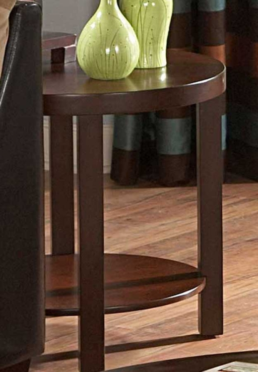 Brussel II Round End Table