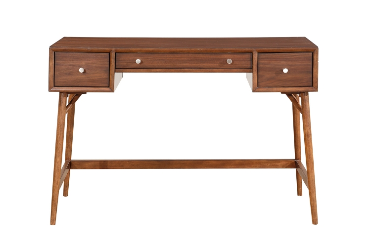 Frolic Counter Height Writing Desk - Brown