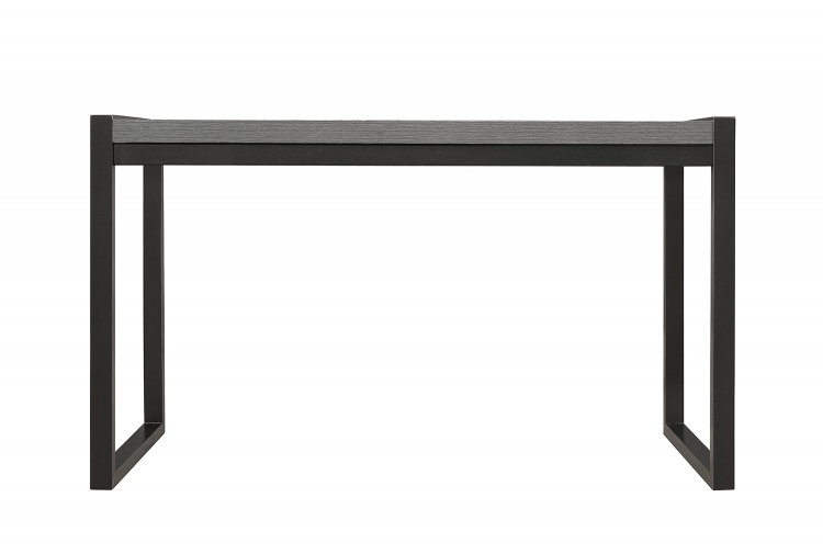 Dogue Writing Desk - Gunmetal - Gray