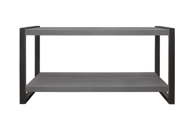Dogue Cocktail/Coffee Table - Gunmetal Gray