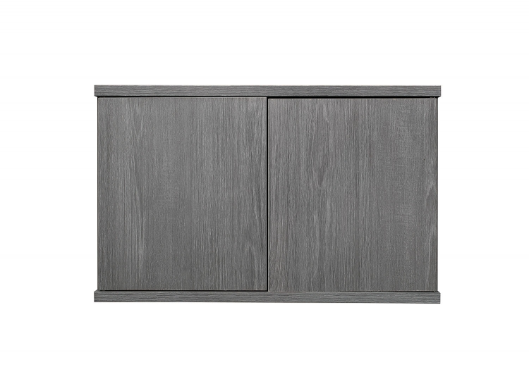 Dogue Cabinet for Bookcase - Gunmetal - Gray