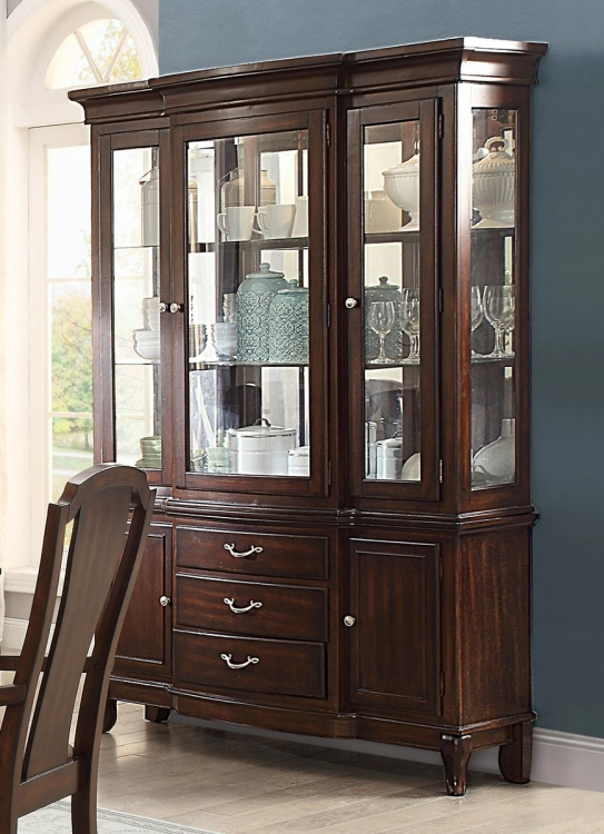 Coleraine China Cabinet - Cherry