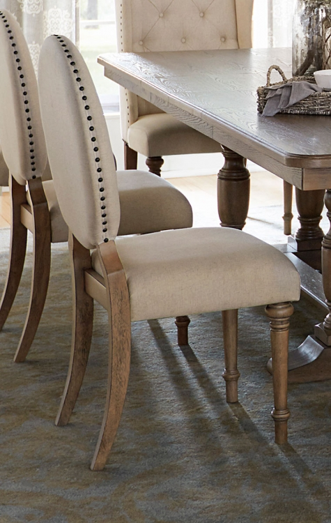 Avignon Side Chair - Natural Taupe