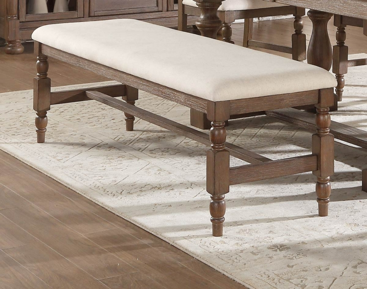 Avignon Bench - Natural Taupe