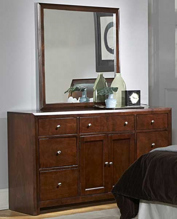 Copley Night Stand-Dresser-Mirror Package