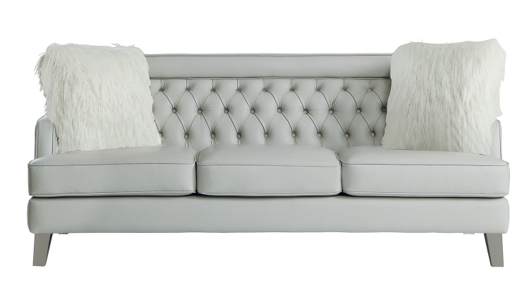 Nevaun Sofa - Light gray AireHyde