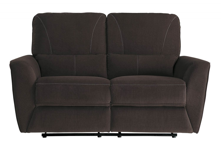 Dowling Double Reclining Love Seat - Chocolate