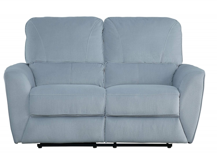 Dowling Double Reclining Love Seat - Light Gray