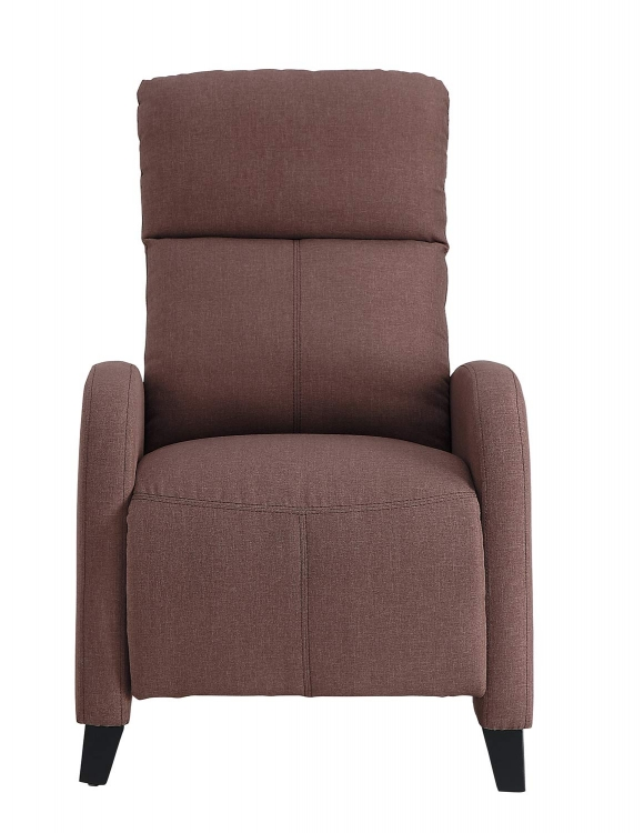 Antrim Push Back Reclining Chair - Brown