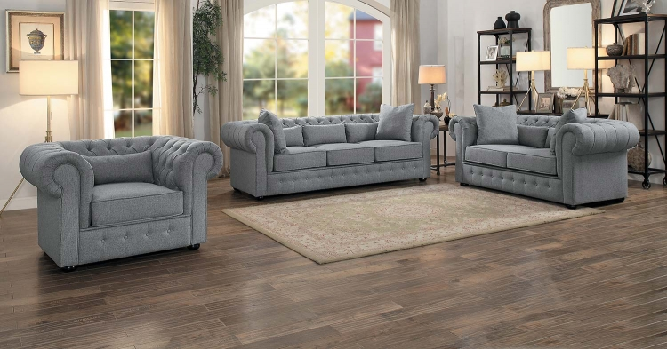 Savonburg Sofa Set - Gray