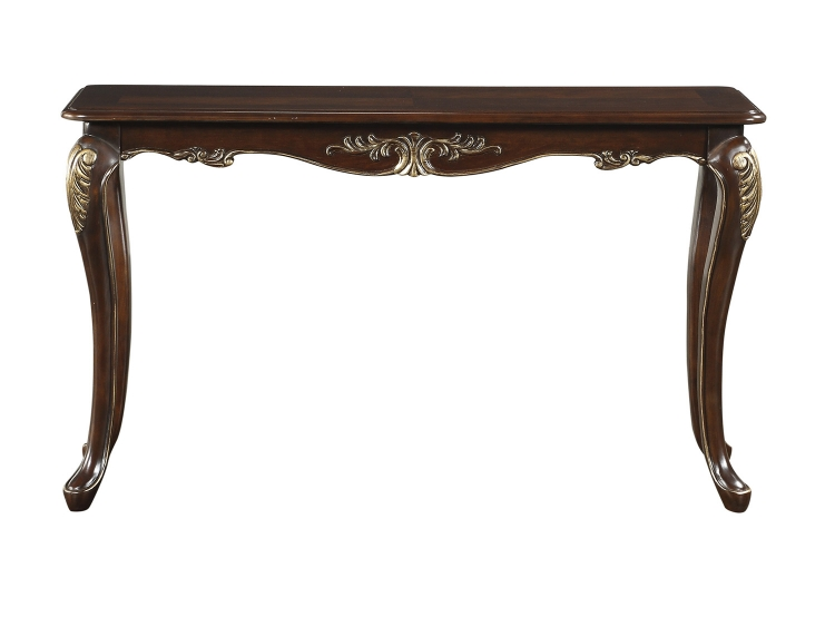 Croydon Sofa Table - Rich Cherry