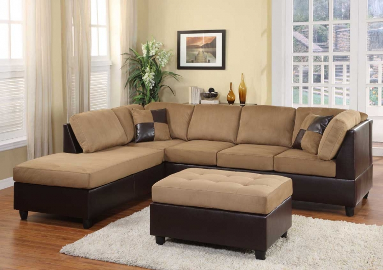 Comfort Living Seating Collection Brown Finish
