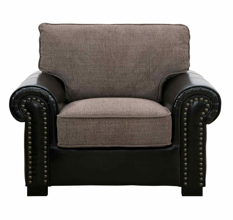 Boykin Chair - Brown Chenille
