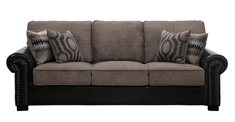 Boykin Sofa - Brown Chenille