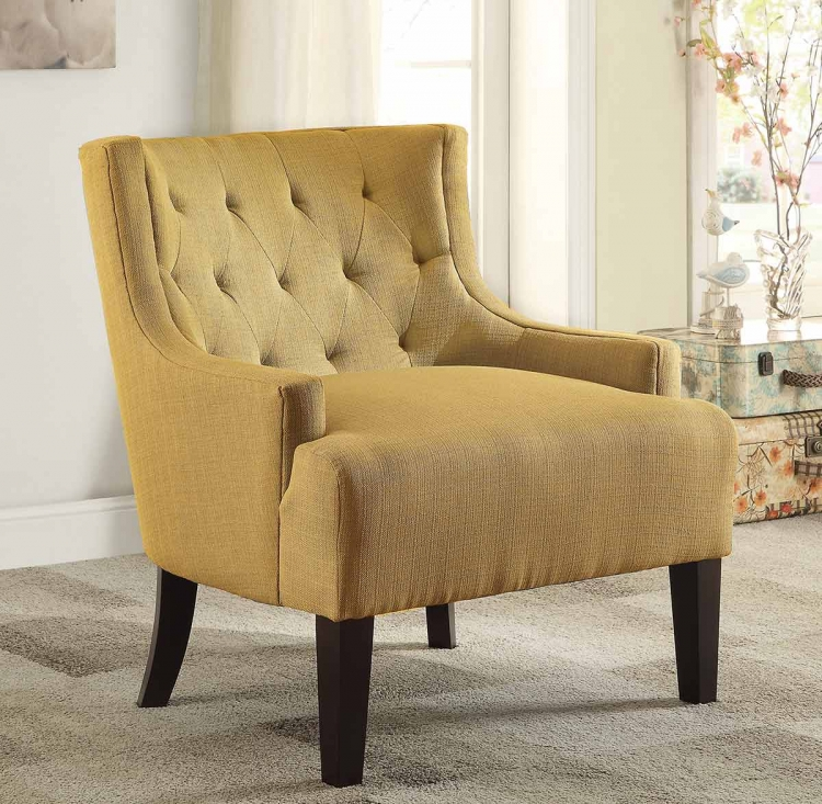 Dulce Accent Chair - Mustard