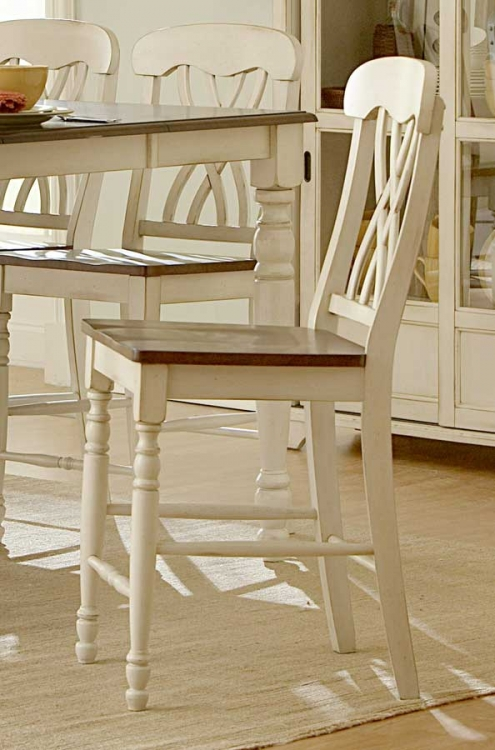 Ohana Counter Height Chair - White