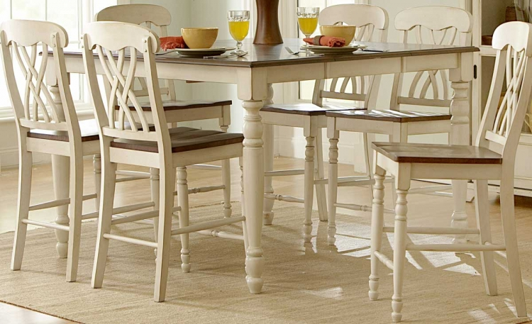 Ohana Counter Height Table - White