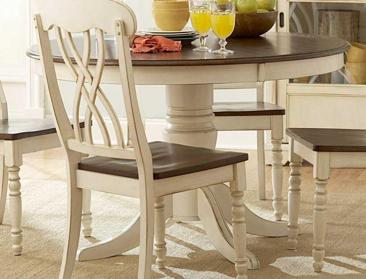 Ohana 48in Round Table - White