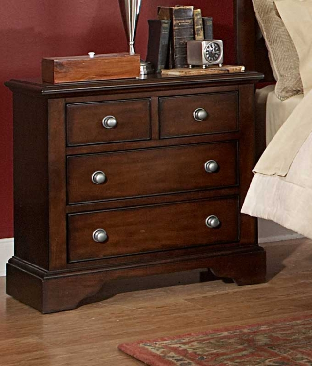 Wilshire Night Stand. Homelegance Wilshire Bedroom Set B1425