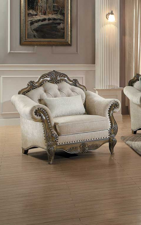 Moorewood Park Chair - Natural Tone Fabric