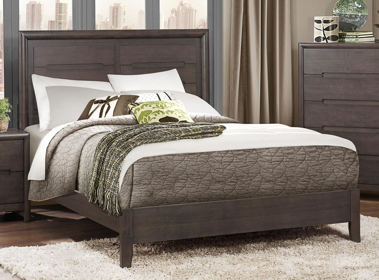 Lavinia Bed - Weathered Grey