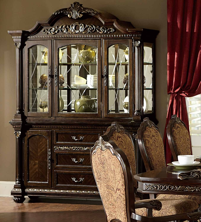 Russian Hill China Cabinet - Cherry
