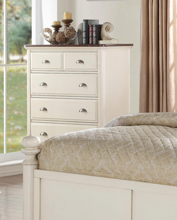 Floresville Chest - Antique White