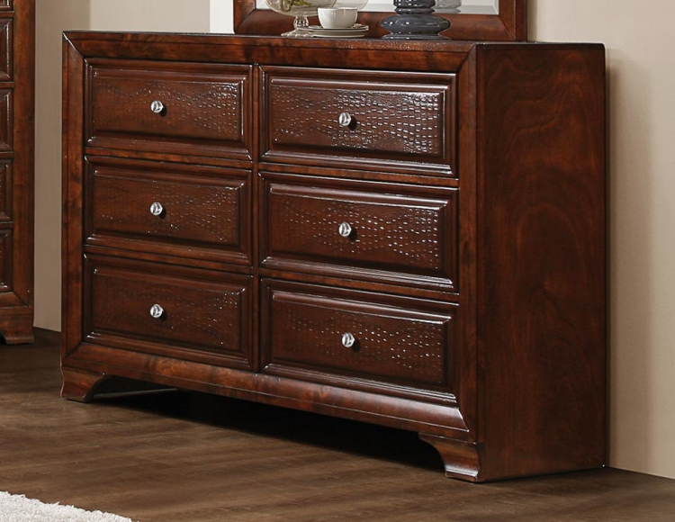 Owens Dresser - Warm Cherry