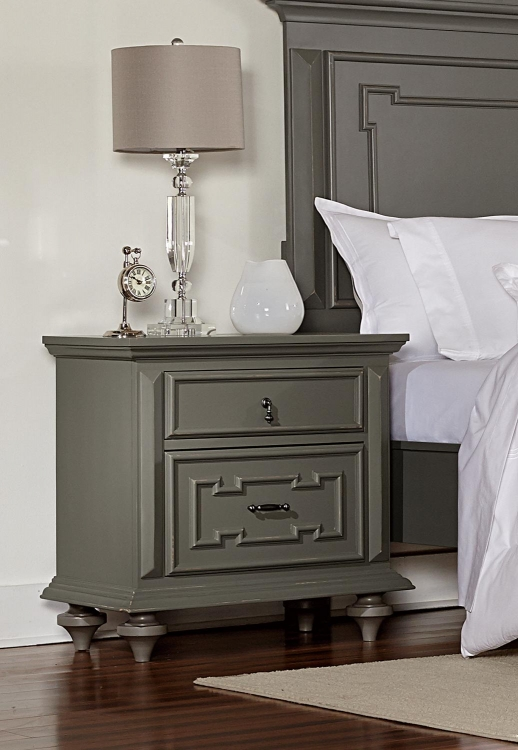 Marceline Night Stand - Grey