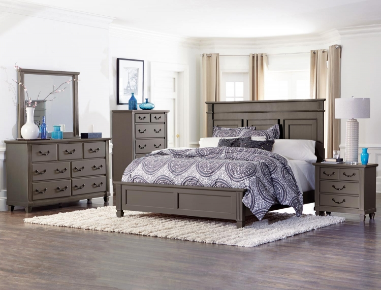 Granbury Panel Bedroom Set - Grey Rub