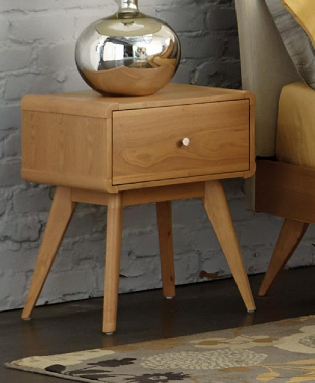 Anika Night Stand - Light Ash