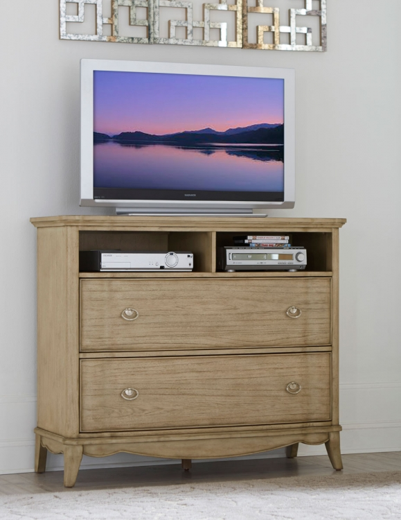 Ashden TV Chest - Driftwood