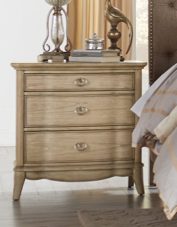 Ashden Night Stand - Driftwood