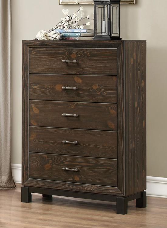 Branton Chest - Antique Brown