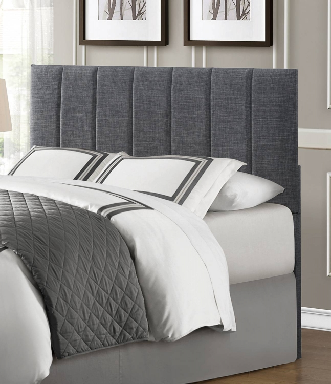 Portrero Upholstered Headboard - Grey