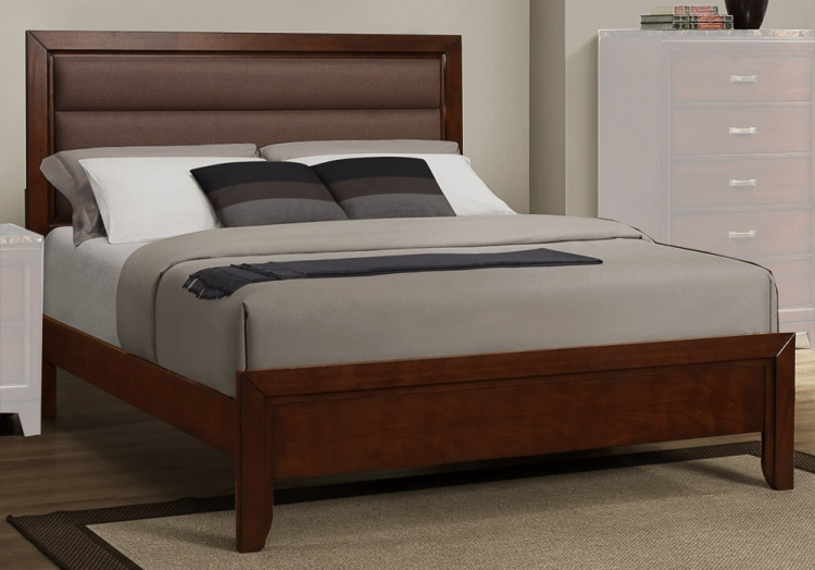 Ottowa Bed - Brown Upholstery