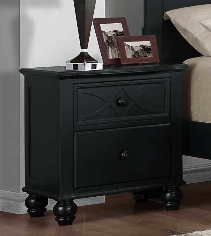 Sanibel Night Stand   Black. Homelegance Sanibel Collection   Sanibel Youth Bedroom Sets