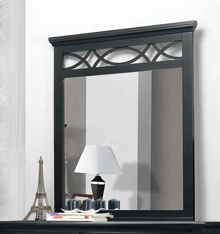 Sanibel Mirror - Black
