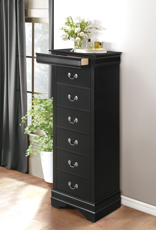 Mayville Lingerie Chest - Black