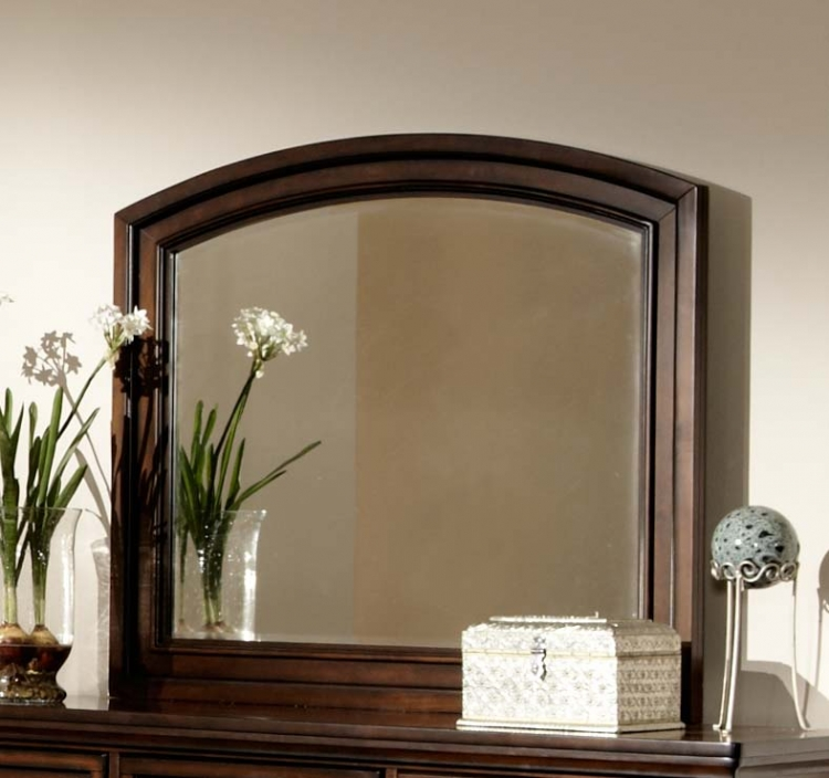 Cumberland Mirror - Brown Cherry
